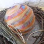 Large Wool Ball, Crib toy, Lavender..